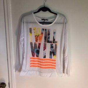"""Energie Long Sleeve """"I Will Win"""" T-shirt"""